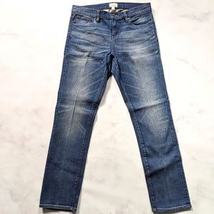 J. Crew Slim Broken-in Boyfriend Jean
